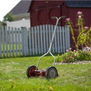 $62.15(原价$198.99)American Lawn Mower 1304-14 手动推卷式割草机