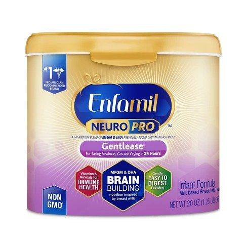 NeuroPro 舒缓配方婴儿奶粉  - 20oz