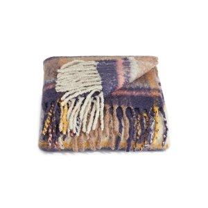 DISTINCTLY HOME1.27米x1.52米格纹流苏毯子
