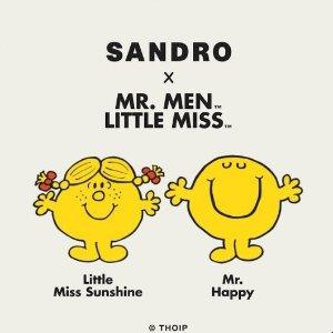 €85收渔夫帽!€115收短袖!Sandro × Mr Men & Little Miss 限定联名发售 可爱情侣款