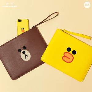 低至5折 布朗熊手包$12+折扣升级:Line Friends 系列可爱零钱包、手提包、小卡包热卖