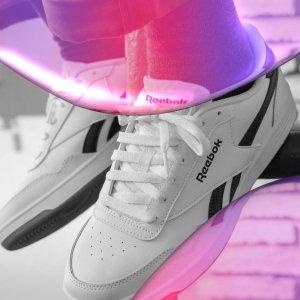 正价7.5折Reebok 解封焕新大促 经典复古小白鞋