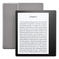Amazon 9代 Kindle Oasis 电子阅读器 32GB 有广告 石墨灰
