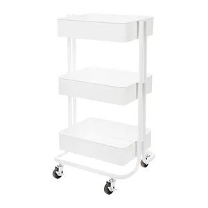 Wayfair Darice3-Tier Metal Rolling Cart Similar Carts & Standards Below