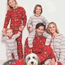 Starting at $4.99 Family Pajamas For Her Him Kids Infants & Pets