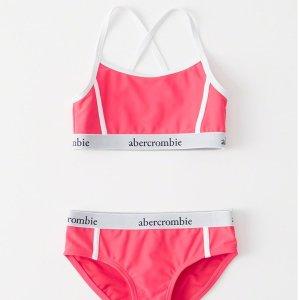 $20起最后一天:abercrombie kids 儿童泳装促销