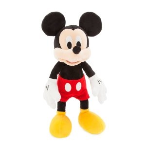 Disney买2个中号玩偶则$16/个米奇玩偶- 17''