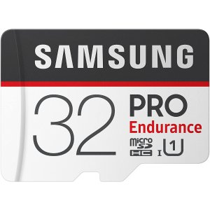 Samsung PRO Endurance 32GB MicroSDHC 高耐久存储卡
