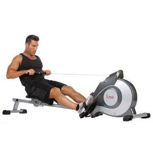 $209(原价$299.99)Sunny Health&Fitness 家用健身磁力划船机