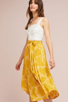 Staycation Printed Skirt | Anthropologie
