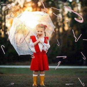 Totes儿童泡泡透明伞
