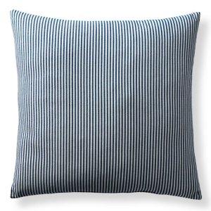 $9.97 包邮Frontgate 条纹羽绒装饰抱枕 20寸/22寸 米色/蓝色两色选