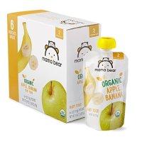 二阶段有机婴儿果泥12包苹果香蕉味