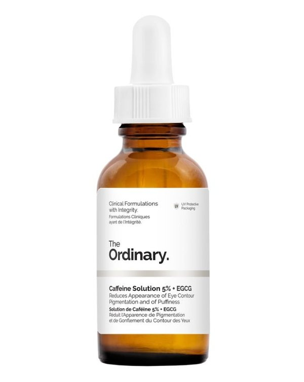 The Ordinary | Caffeine Solution 5% + EGCG | Cult Beauty