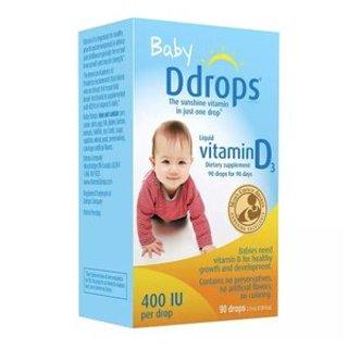 买1件第2件半价Walgreens Ddrops宝宝维生素D3 400IU 滴剂等特卖