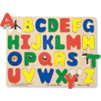 Melissa & Doug 字母拼图