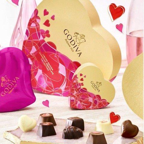 Godiva 比利时奢华巧克力 $9.9起Godiva 比利时奢华巧克力 $9.9起