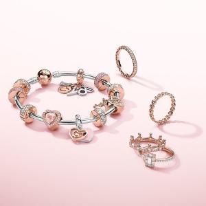 6折 + 满减¥64+ 直邮中国PANDORA 项链、手链、串珠精选,¥209起收经典串珠