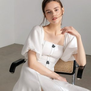 独家:J.ING 早春20新款全部参与 现$87入封面图质感棉麻仙女裙 超多夏季美衣加入