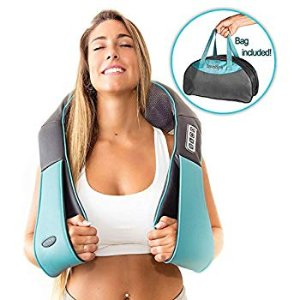 Amazon.com: Shiatsu Back Shoulder & Neck Massager with Heat - Deep Tissue 3D Kneading Pillow Massager for Neck, Back, Shoulders, Foot, Legs - Electric Full Body Massage, Relieve Muscle Pain - Home & Car (Blue): Gateway