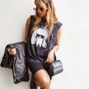 全场5折 €37就收T恤Karl Lagerfeld 老佛爷同名个人品牌 包包、配饰、美衣都有哦