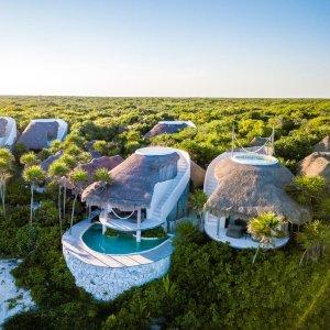 $112起 INS网红PPP了解一下墨西哥图鲁姆网红木瓜海滩项目酒店折扣好价