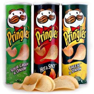 $1 收洋葱口味新增口味:Pringles 品客薯片  多口味  馋嘴、追剧好拍档