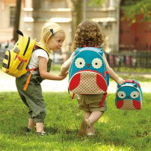 7折+额外8折最后一天:Skip Hop 超可爱儿童书包、午餐包、水杯特卖