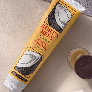 $10.98(原价$14.97)Burt's Bees 小蜜蜂椰子护足霜 天然配方 孕妈妈可用