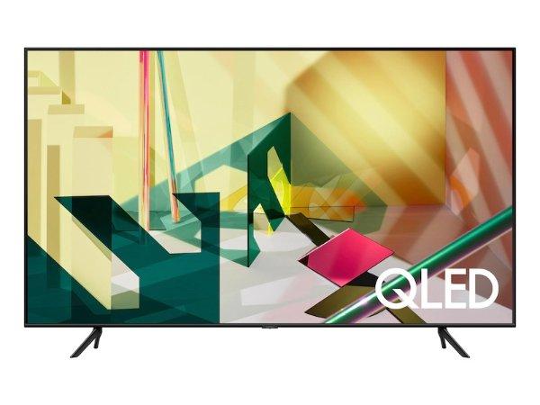 "75"" Class Q70T QLED 4K UHD HDR Smart TV (2020) TVs - QN75Q70TAFXZA | Samsung US"