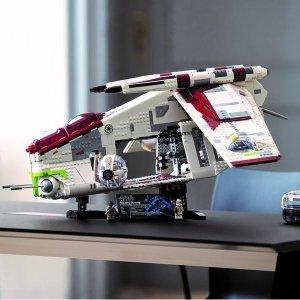 Lego8/1上市共和国炮艇 75309   星战