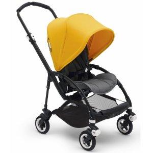 BugabooNew inBee5 Complete Stroller - Sunrise Yellow/Grey Melange