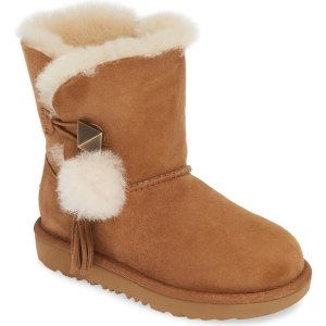 大儿童雪地靴