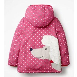$33史低价:Mini Boden 童趣防水羊羔绒内衬秋冬外套