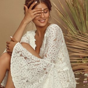 Free Shipping $86 Get Maxi Lace DressNew Arrivals: Lulu's White Dress