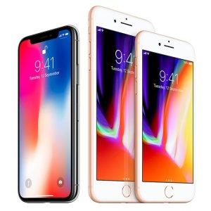 iPhone X 256GB 退税后约为7.3折史低价:Apple iPhone X、iPhone 8 等苹果手机热卖