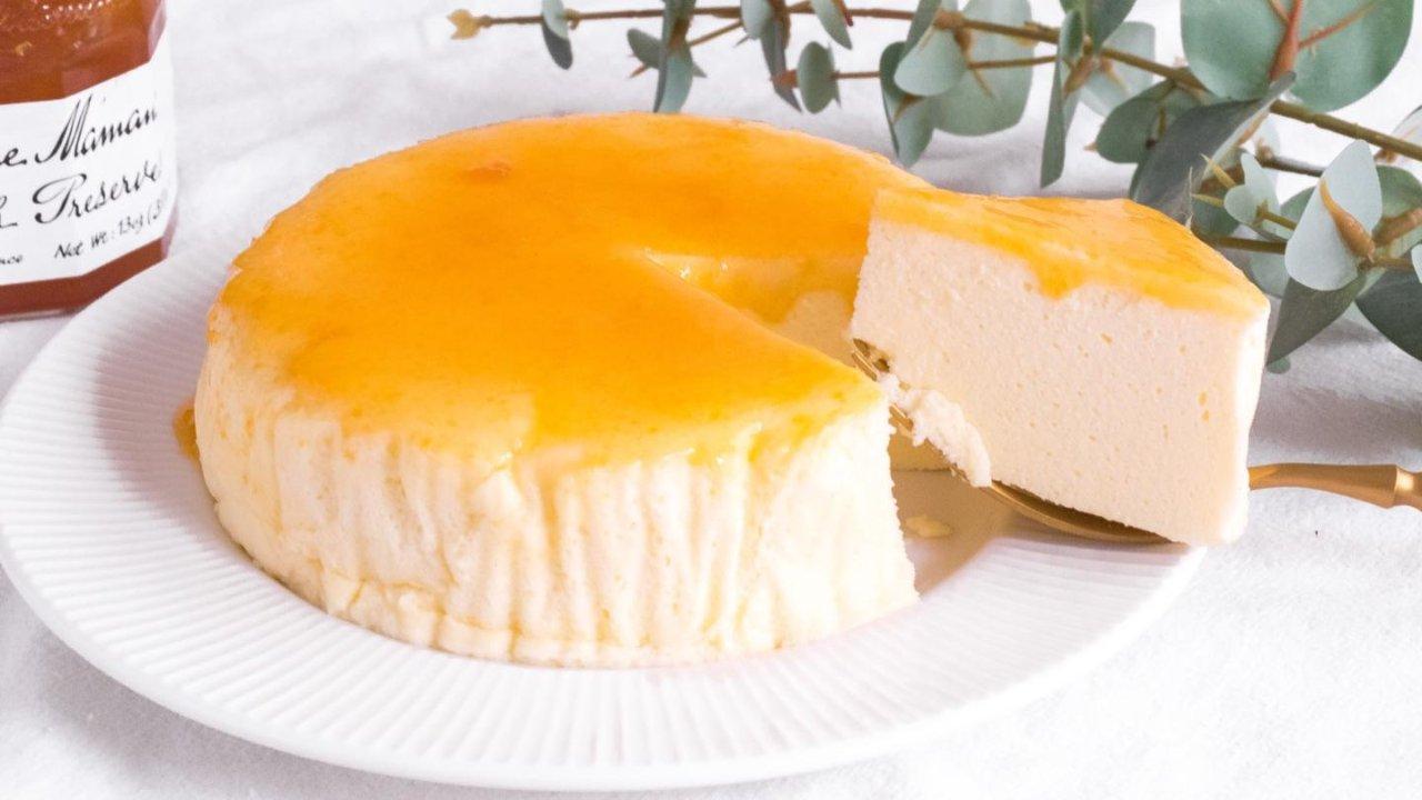 完胜轻乳酪+超低卡㊙️酸奶舒芙蕾了解一下