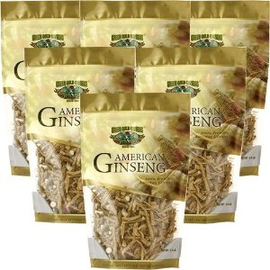 American Ginseng Prong 8oz bag x 6