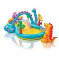 Intex 小恐龙主题充气水池