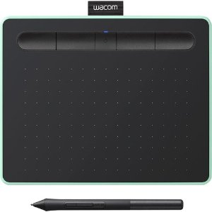 WacomWacom Intuos Creative Pen Tablet with Bluetooth Small, Pistachio - Factory Refurbished