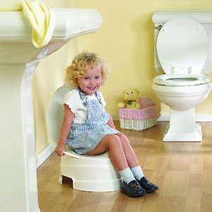 Primo 4-In-1 Soft Seat Toilet Trainer and Step Stool