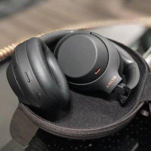 $384(发售价$549)Sony WH-1000XM4 降噪耳机 双色现货 速抢