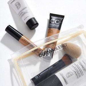 满送明星散粉+化妆包Dermablend 美妆护肤热卖 收广效遮瑕膏、香蕉散粉