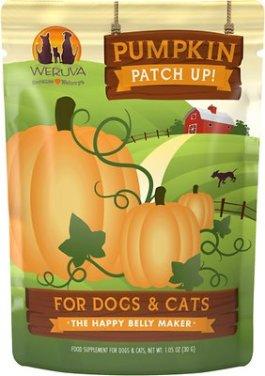 Weruva Pumpkin Patch Up! Dog & Cat Food Supplement Pouches, 1.05-oz, case of 12 - Chewy.com