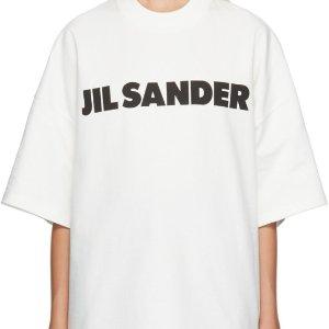 收应采儿、杨紫同款Jil Sander 高级感极简风logoT恤热卖 明星网红博主都在穿