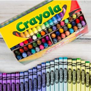 8.5折起+额外9折Crayola 宝贝宅家不无聊 64色蜡笔$4.27、48色彩铅$9