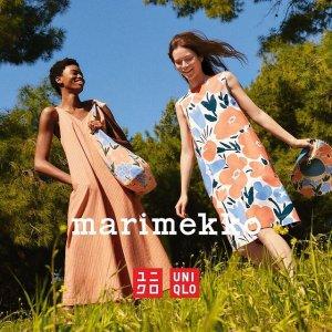 已发售 + 满额送礼Uniqlo x Marimekko 21春夏系列美衣上新