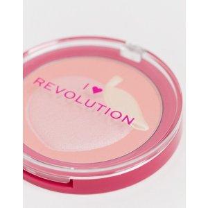 I heart revolution蜜桃腮红
