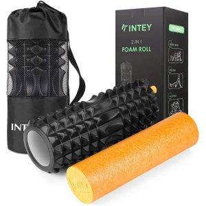 仅€19.99 内层可单独使用INTEY 健身泡沫轴狼牙棒热卖 告别肌肉酸痛