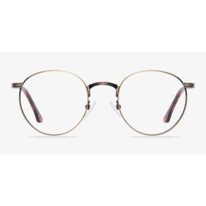 EyeBuyDirect金丝圆框镜